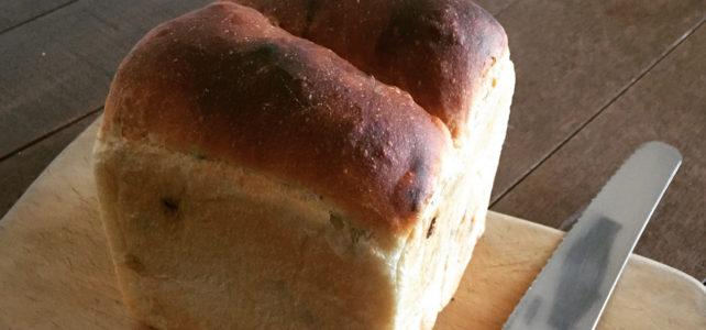 国産小麦の食パン